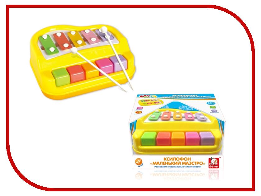 Детский музыкальный инструмент S+S toys BAMBINI Ксилофон маэстро СС76754 игрушка s s toys bambini 2 в 1 развивающий телефон и пианино сс76752