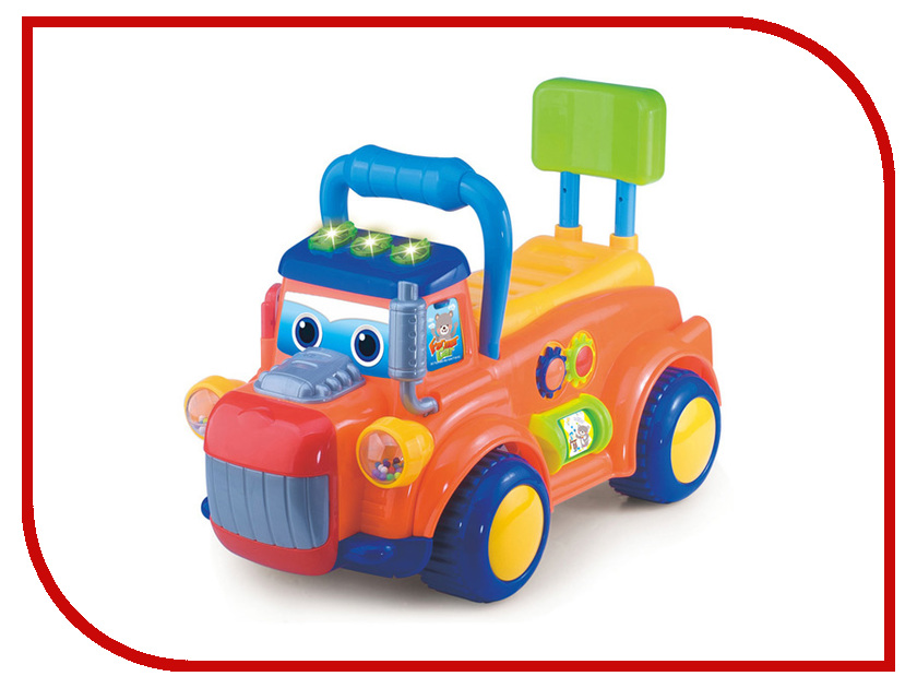Игрушка S+S toys BAMBINI Каталка-грузовичок СС76751 каталка s s toys bambini каталка грузовичок сс76751