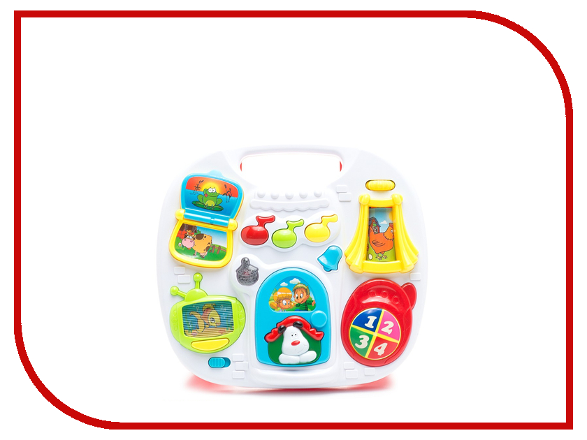 Игрушка S+S toys BAMBINI Музыкальный столик СС76743 игрушка s s toys bambini 2 в 1 развивающий телефон и пианино сс76752