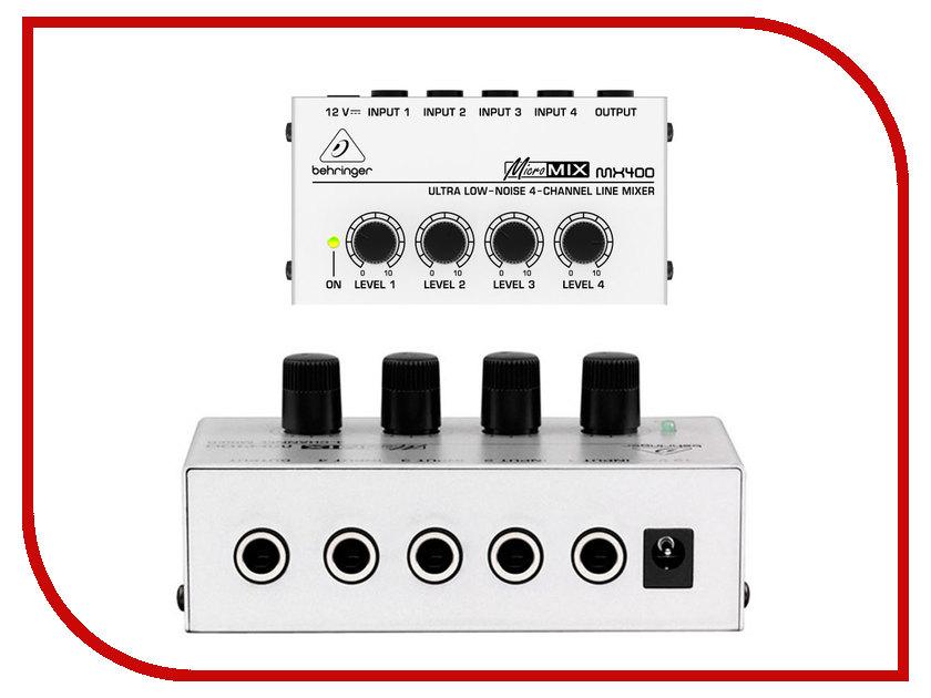 Пульт Behringer Micromix MX400
