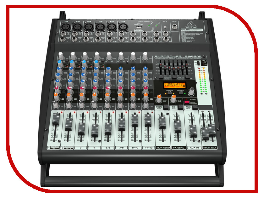 Пульт Behringer PMP500 пульт сигнал эфир hd 500