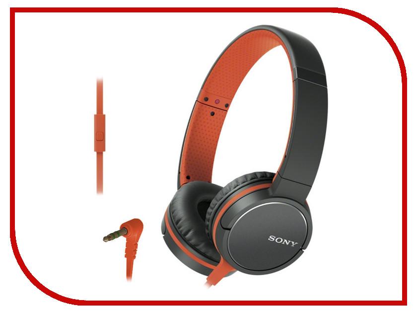 Sony MDR-ZX660AP Orange наушники sony mdr zx660ap с микрофоном