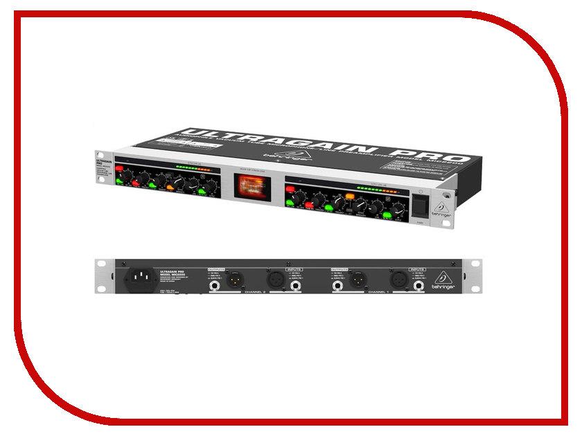 Аудиоинтерфейс Behringer MIC2200 микрофонный предусилитель mic2200 behringer