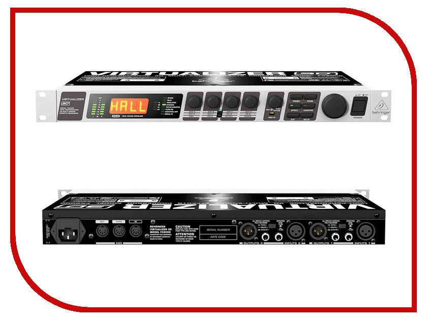 Вокальный процессор Behringer FX2000 вокальный процессор roland vp 03