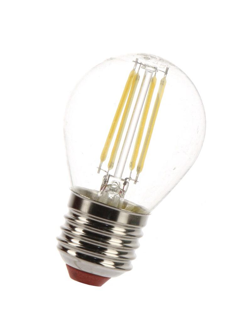 Лампочка Экономка Шарик E27 5W 160-260V 450Lm 2700K EcoLedFL5wGL45E2727