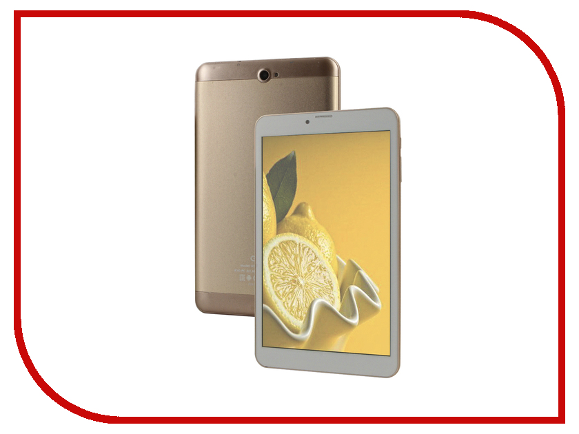 Планшет Ginzzu GT-8010 rev.2 Gold (Spreadtrum SC9832 1.3 GHz/1024Mb/16Gb/GPS/LTE/3G/Wi-Fi/Bluetooth/Cam/8.0/1280x800/Android) планшет digma plane 9507m 3g black ps9079mg mt8321 1 2 ghz 1024mb 8gb 3g wi fi bluetooth cam 9 6 1280x800 android 390148