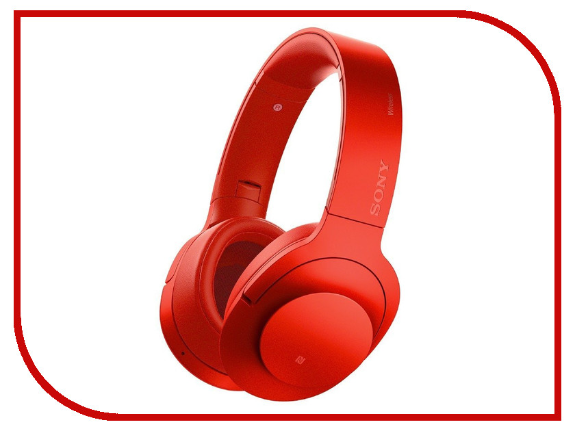 Гарнитура Sony MDR-100ABN Red<br>