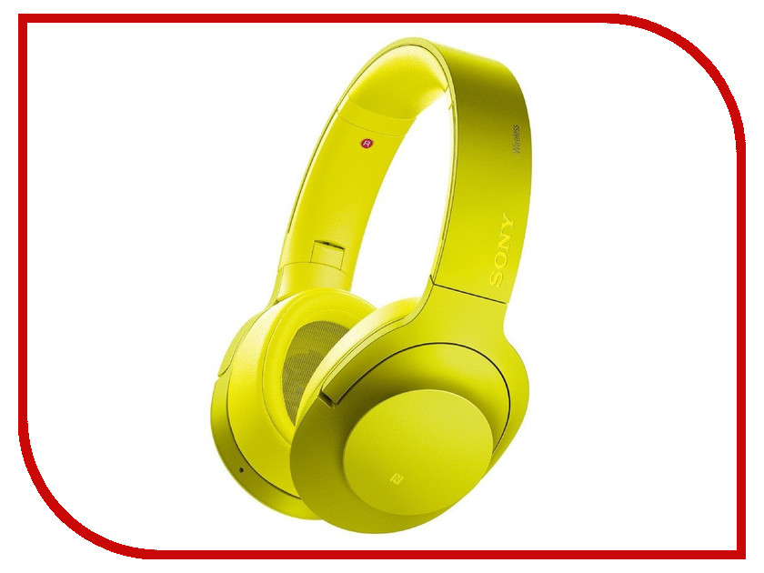 Гарнитура Sony MDR-100ABN Yellow<br>