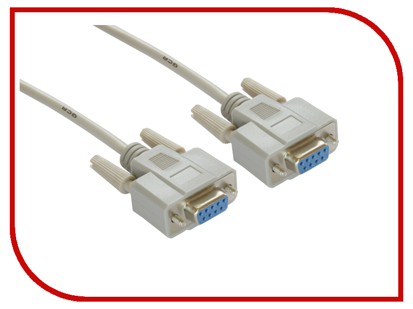 Аксессуар Greenconnect COM DB9/DB9 9F/9F 10m Grey GCR-DB901-10m