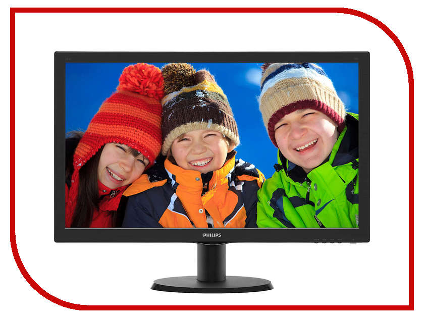 Купить Монитор Philips 243V5QHABA/00 Black