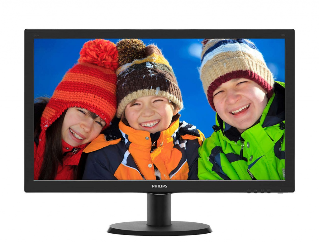 Монитор Philips 243V5QHABA/00 Black цена 2017