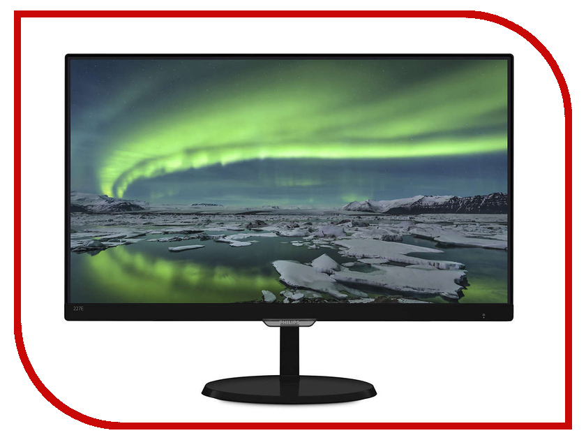 Монитор Philips 227E7QDSB/00 Black