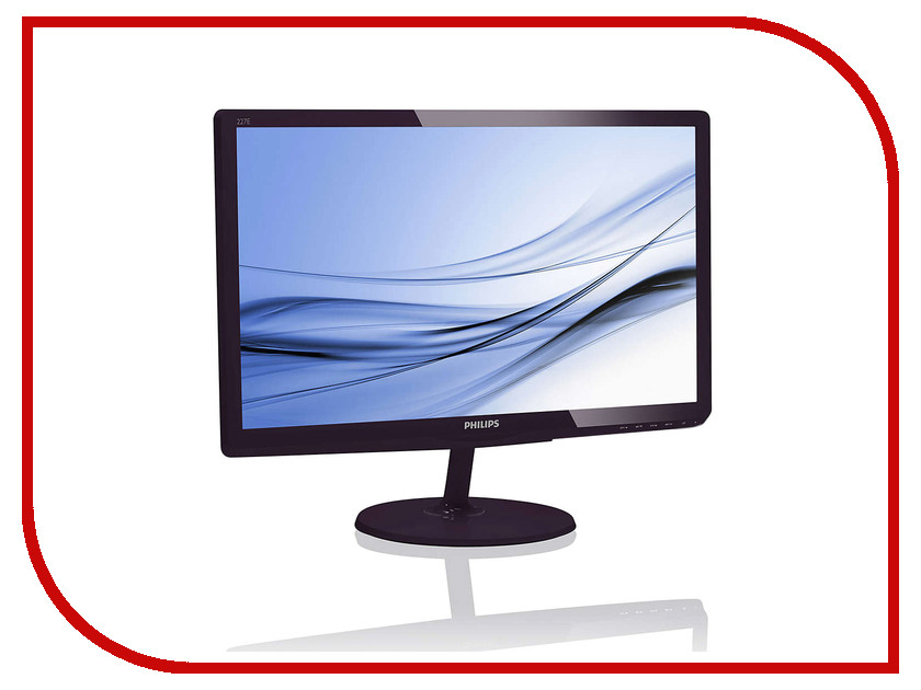 Монитор Philips 227E6EDSD/00 Black-Cherry монитор philips 241p6epjeb 00 black