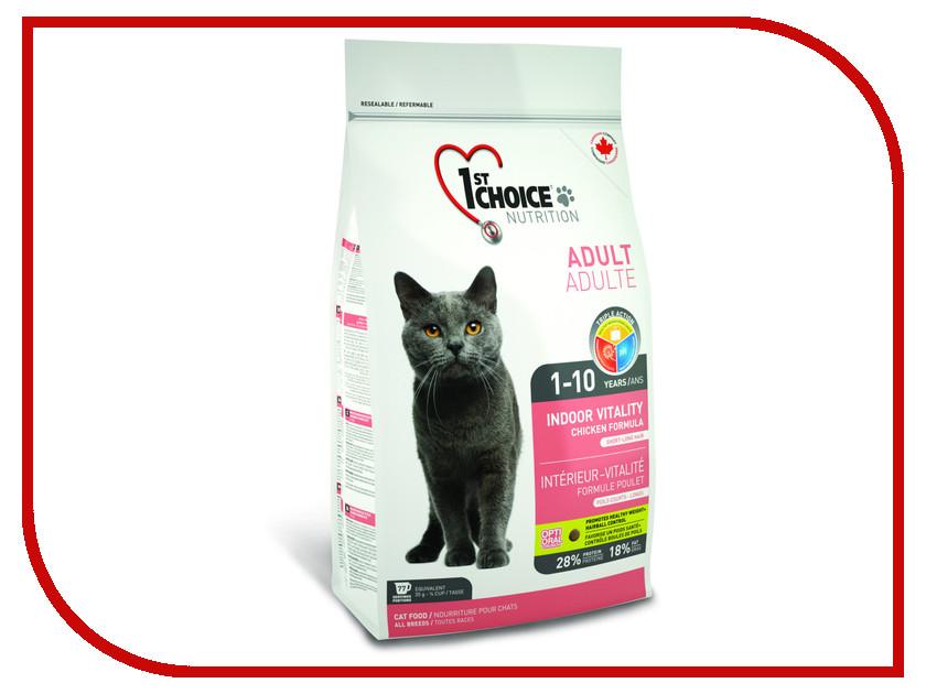 Корм 1st CHOICE Vitality Цыпленок 2.72kg для домашних кошек 102.1.212<br>