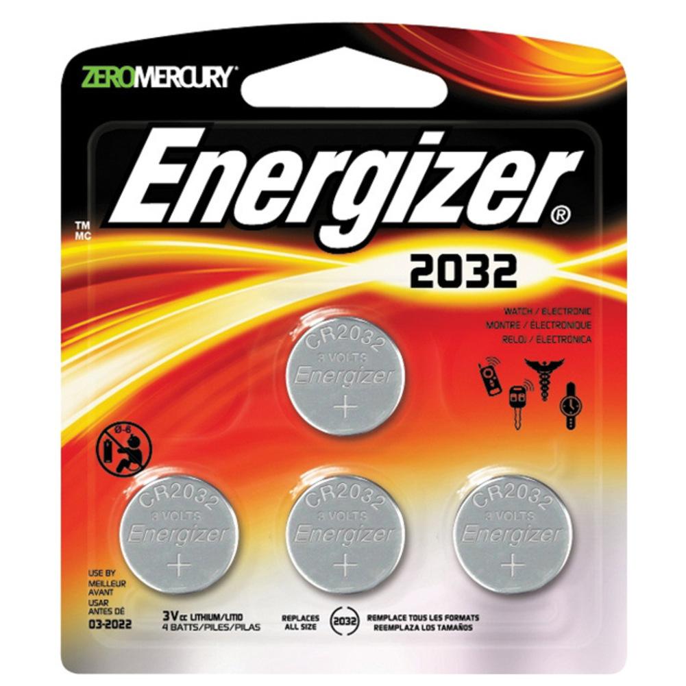 Батарейка CR2032 - Energizer Lithium CR2032 3V (4 штуки) E300830102 / 24997 стоимость