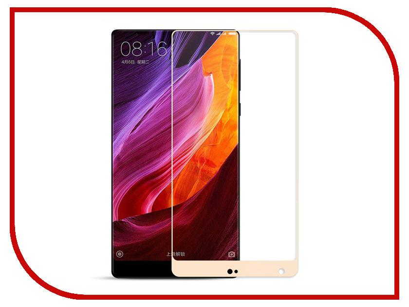 Аксессуар Защитное стекло Xiaomi Mi Mix Zibelino TG Full Screen 0.33mm 2.5D Gold ZTG-FS-XMI-MI-MIX-GLD