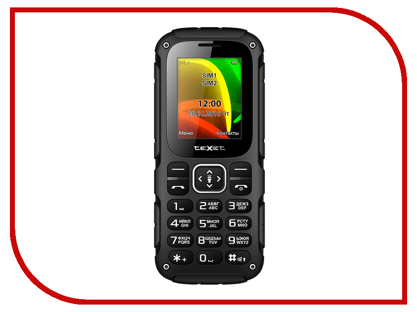 Сотовый телефон teXet TM-504R Black-Green texet tm 513r