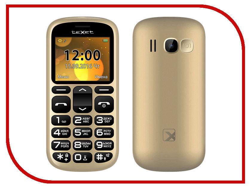Сотовый телефон teXet TM-B306 Gold сотовый