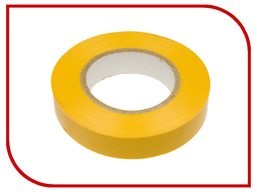 Изолента Rexant 0.18 x 19mm x 20m Yellow 09-2802