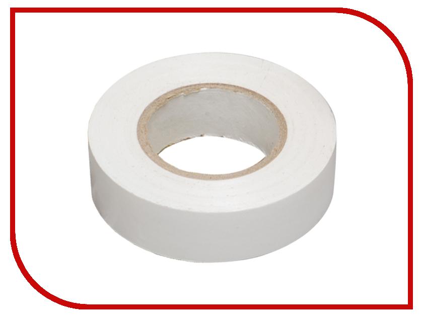 Изолента Rexant 0.18 x 19mm x 20m White 09-2801 изолента zebra 15mm x 20m yellow 08736