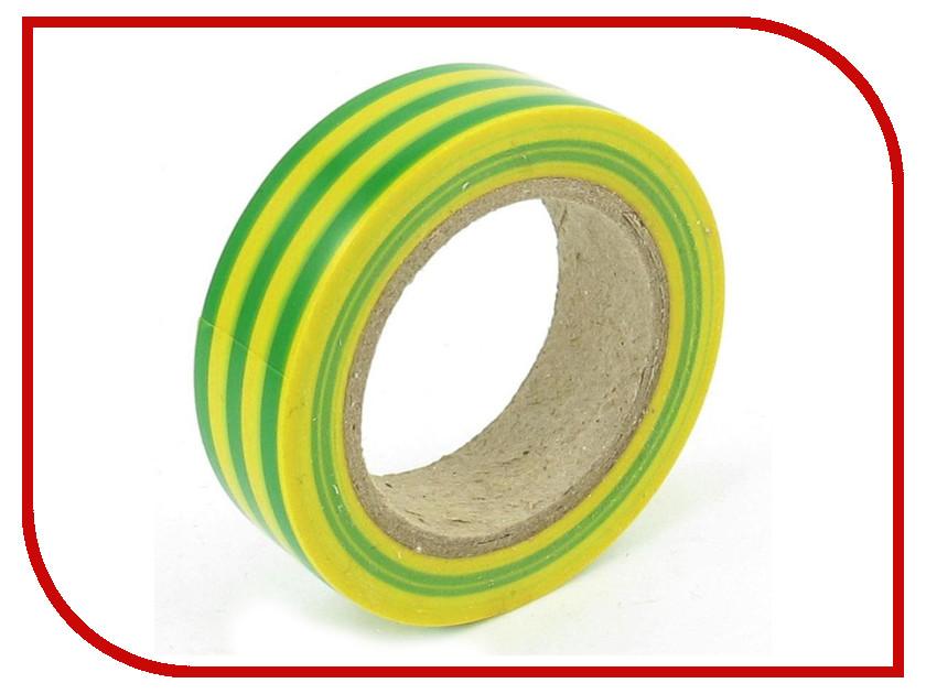 Аксессуар Rexant Изолента 15mm х 10m Yellow-Green 09-2007