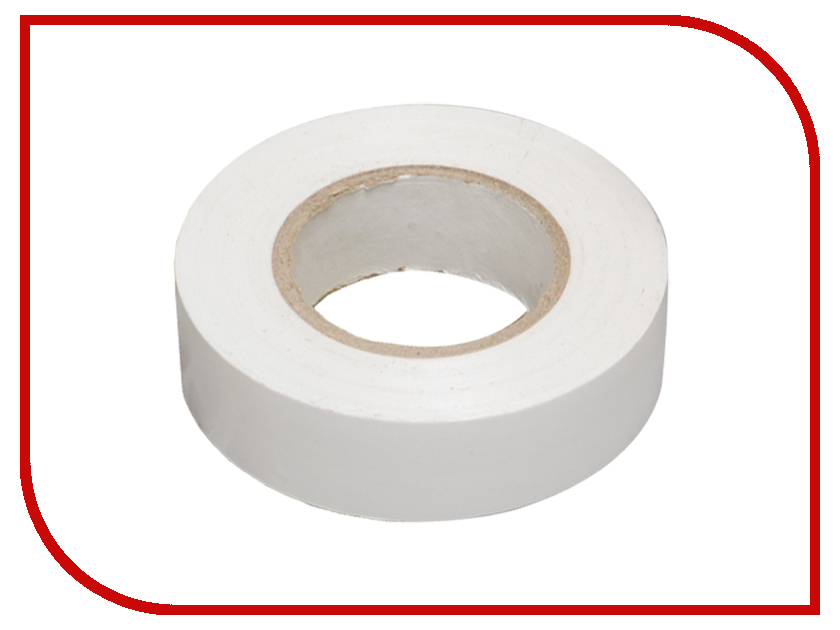 Изолента Rexant 15mm х 10m White 09-2001