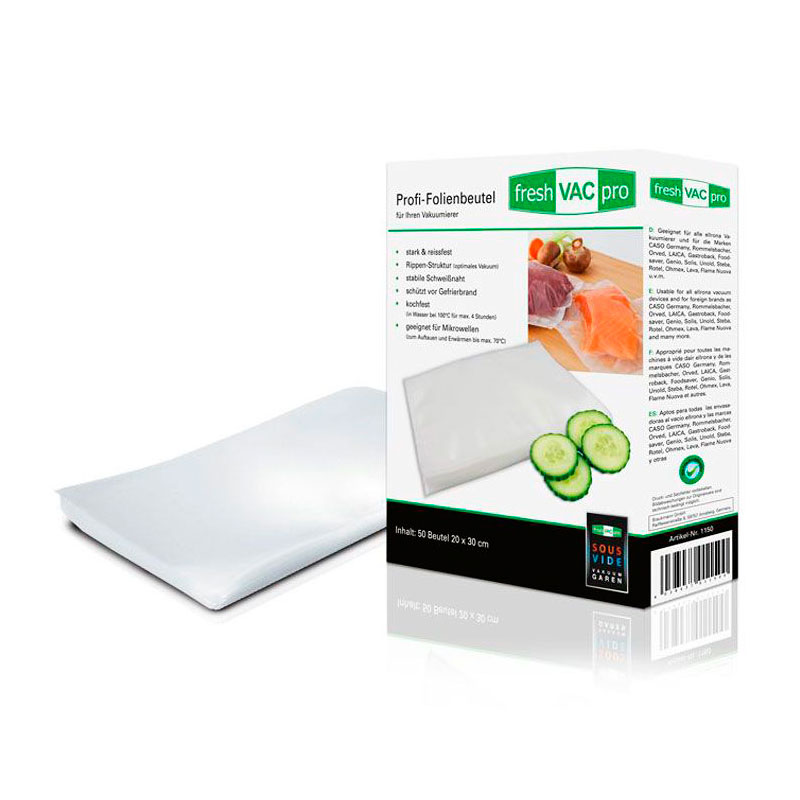 Вакуумные пакеты Ellrona FreshVACpro 20x30cm 50шт