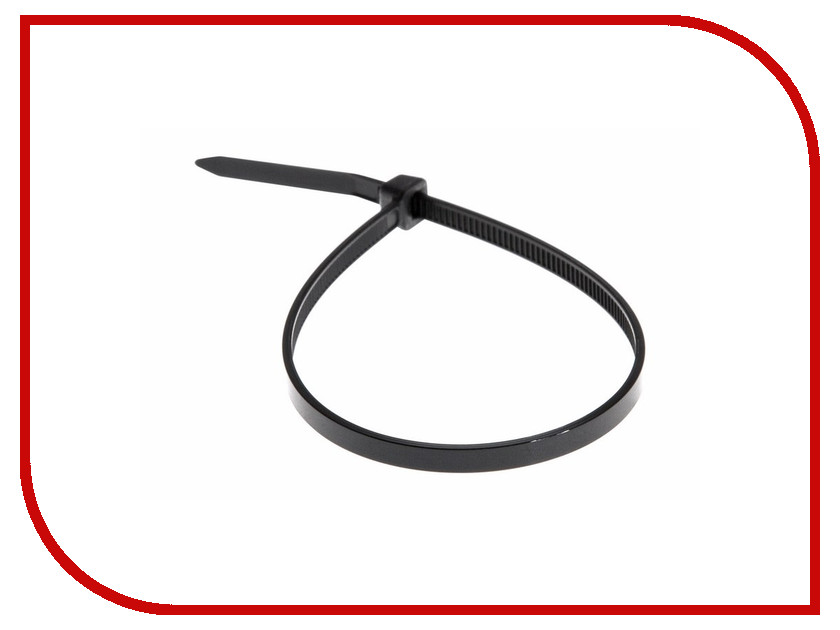 Стяжки нейлоновые Rexant 200x4.0mm (100шт) Black 07-0201-1