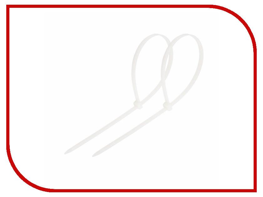Стяжки нейлоновые Rexant 150x3.0mm (100шт) White 07-0150-1