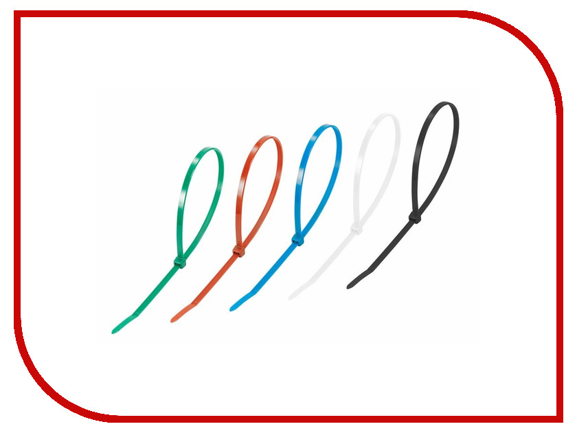 Стяжки нейлоновые Rexant 400x5.0mm (25шт) 07-0408-25