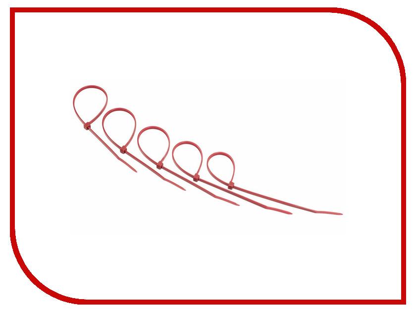 Стяжки нейлоновые Rexant 400x5.0mm (25шт) Red 07-0406-25