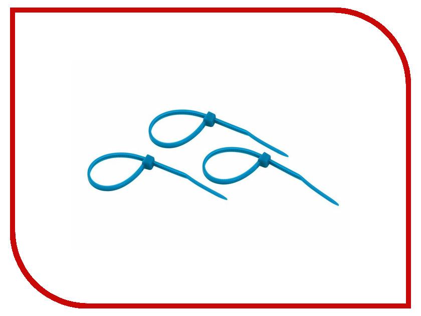 Стяжки нейлоновые Rexant 100x2.5mm (25шт) Blue 07-0105-25