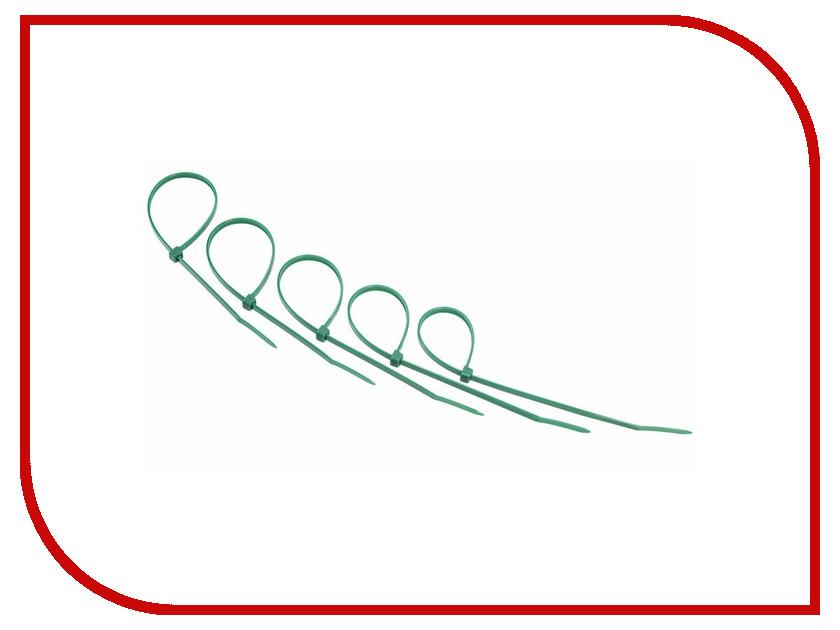 Стяжки нейлоновые Rexant 400x5.0mm (25шт) Green 07-0403-25