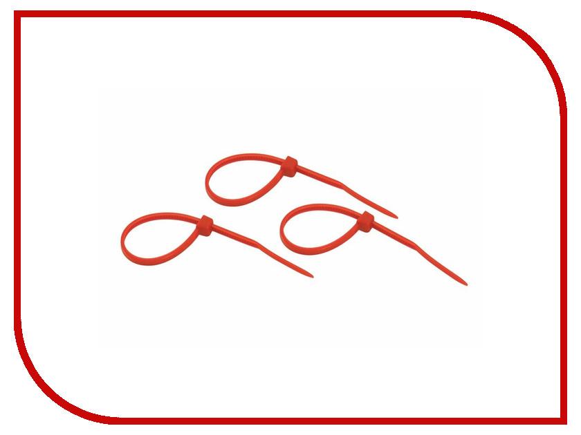 Стяжки нейлоновые Rexant 100x2.5mm (25шт) Red 07-0106-25