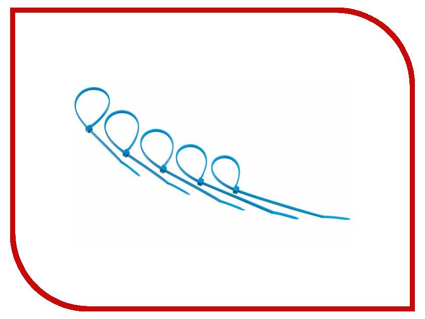 Стяжки нейлоновые Rexant 200x4.0mm (25шт) Blue 07-0205-25