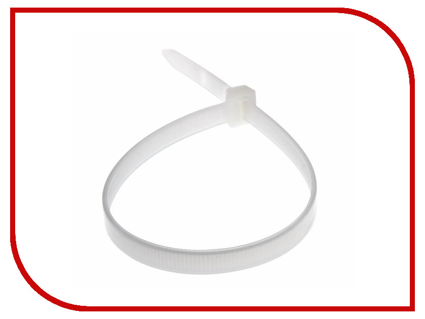 Стяжки нейлоновые Rexant 8.0x300mm (100шт) White 07-0302