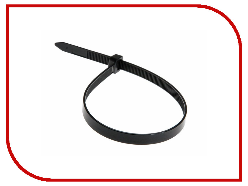 все цены на Стяжки нейлоновые Rexant 400x8mm (100шт) Black 07-0401-8 онлайн