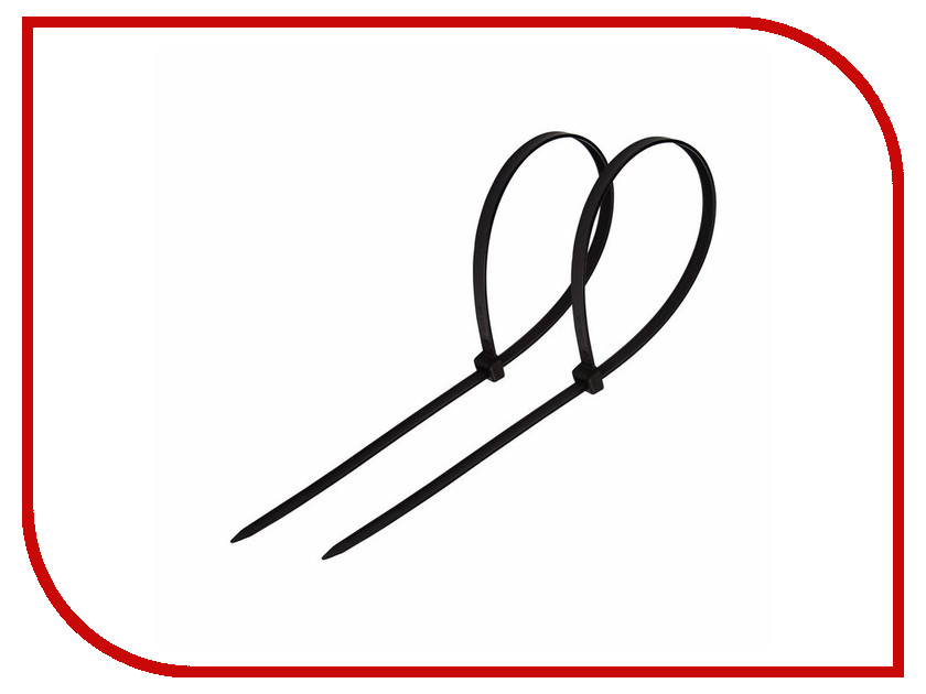 Стяжки нейлоновые Rexant 150x4mm (100шт) Black 07-0151-4<br>