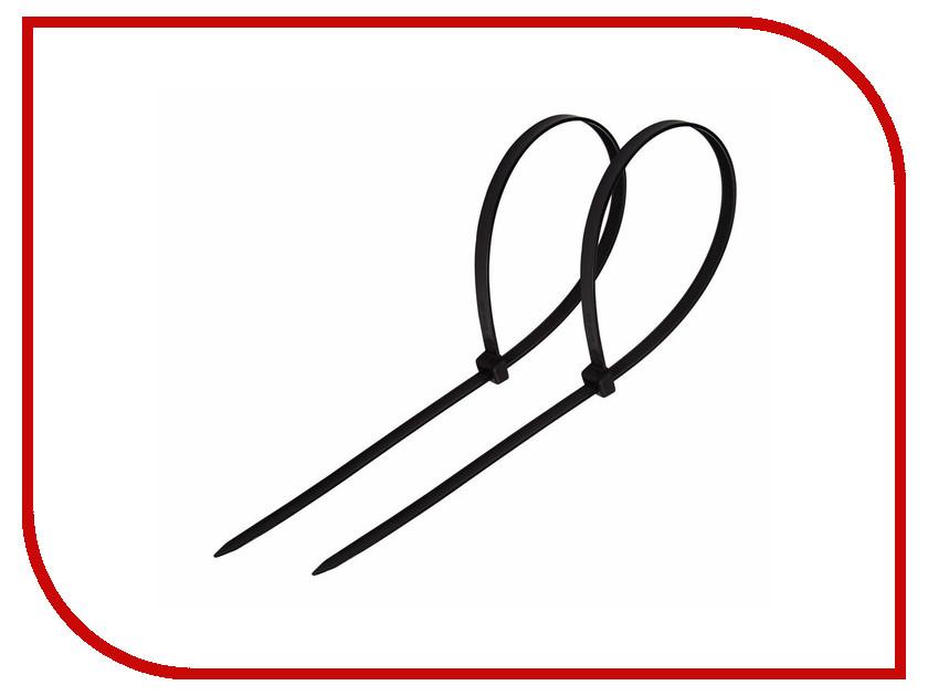 все цены на Стяжки нейлоновые Rexant 400x5.0mm (100шт) Black 07-0401 онлайн