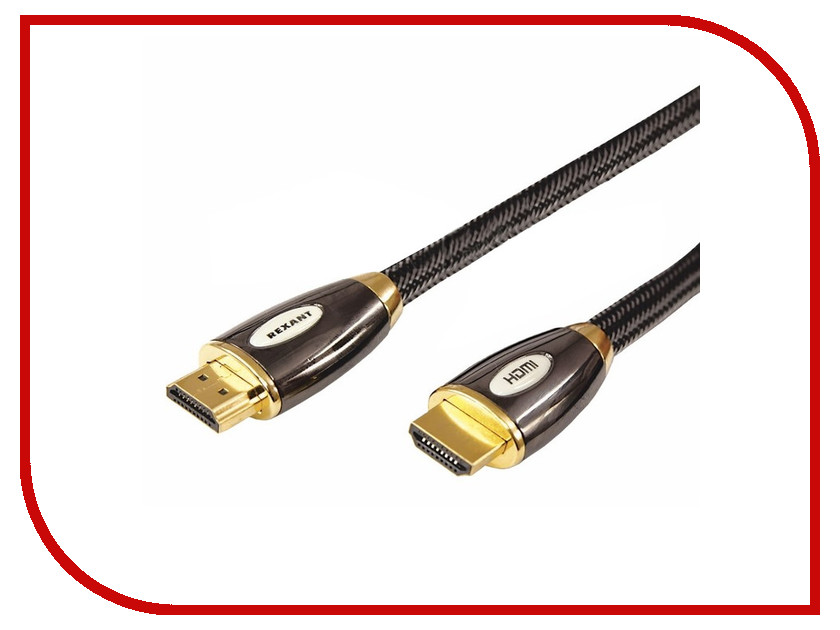 Аксессуар Rexant Luxury HDMI 3m 17-6505<br>