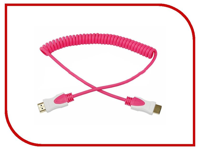 Аксессуар Rexant HDMI 2m Pink 17-7026