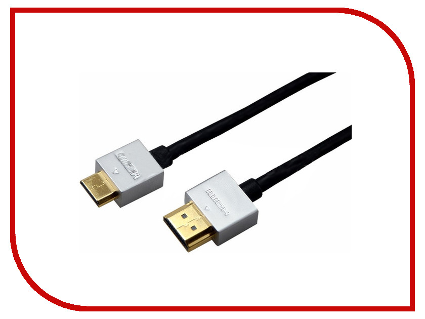 Аксессуар Rexant HDMI - Mini HDMI 1.5m Ultra Slim 17-6713