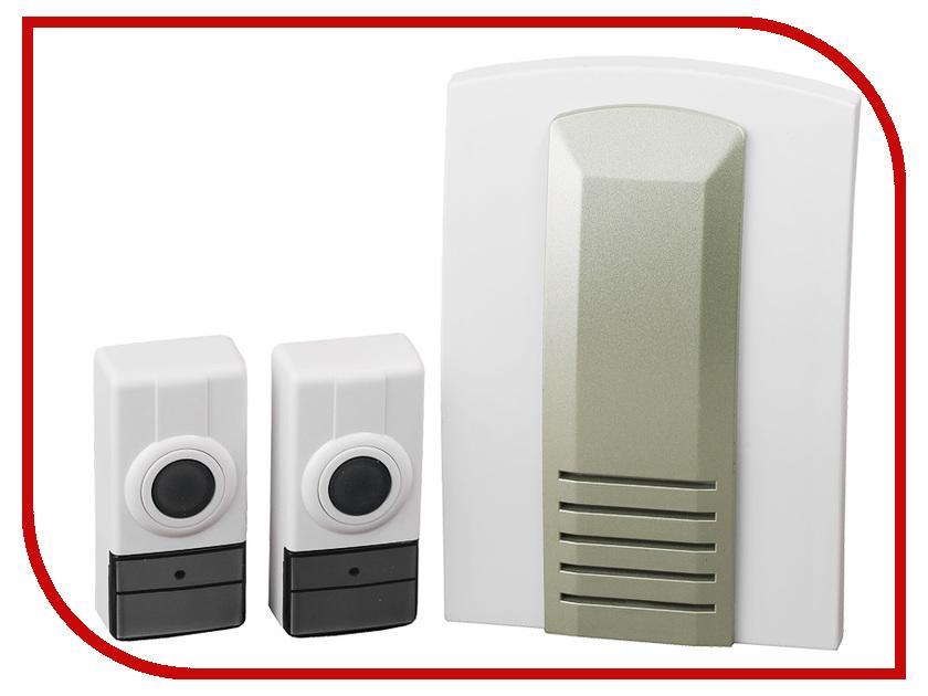 Звонок дверной Светозар Волна SV-58066-2 звонок электрический с кнопкой светозар нота 58037