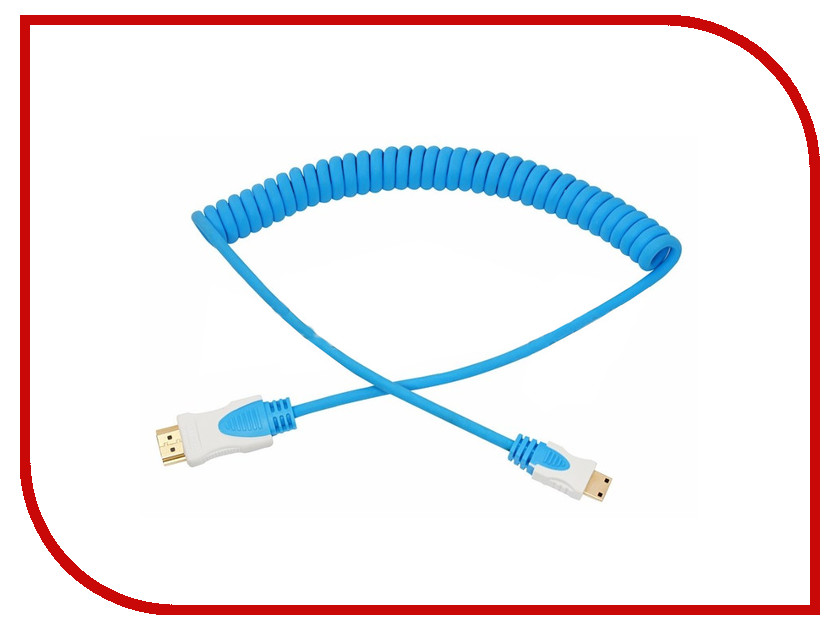 Аксессуар Rexant HDMI - Mini HDMI 2m Blue 17-7125