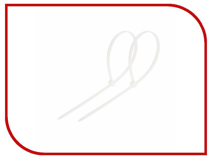 Стяжки нейлоновые Rexant 120x2.5mm (100шт) White 07-0120