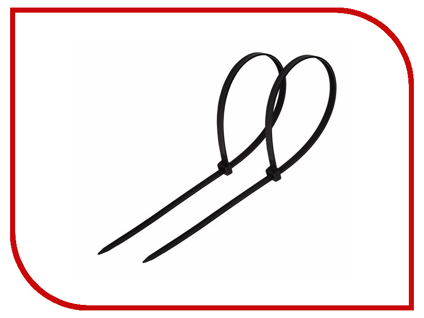 Стяжки нейлоновые Rexant 300x4.0mm (100шт) Black 07-0301