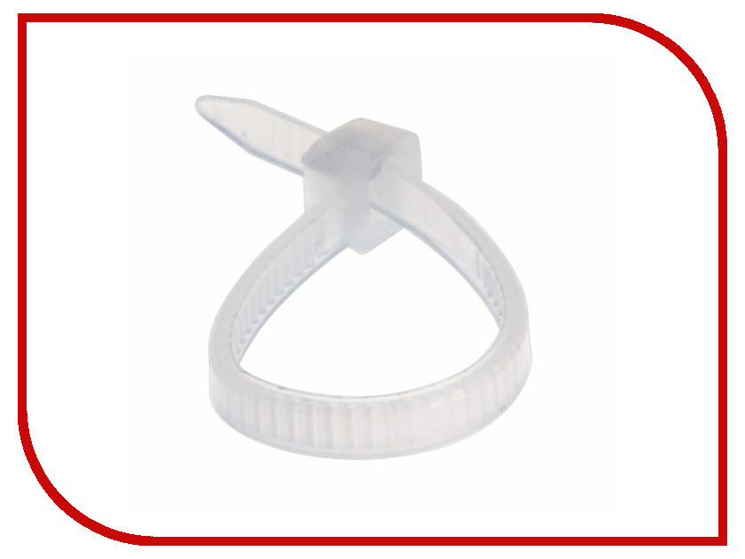 Стяжки нейлоновые Rexant 100x2.5mm (100шт) White 07-0100 [in stock]100