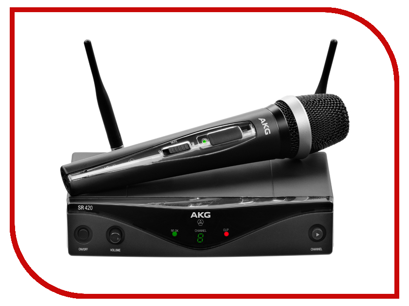 Радиомикрофон AKG WMS420 Vocal Set Band A