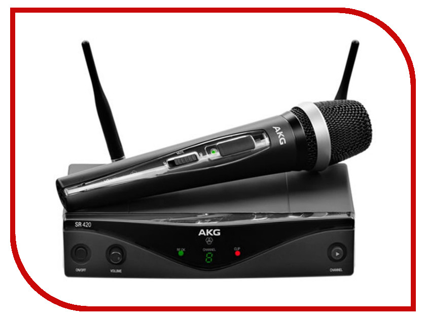 Радиомикрофон AKG WMS420 Vocal Set Band U2