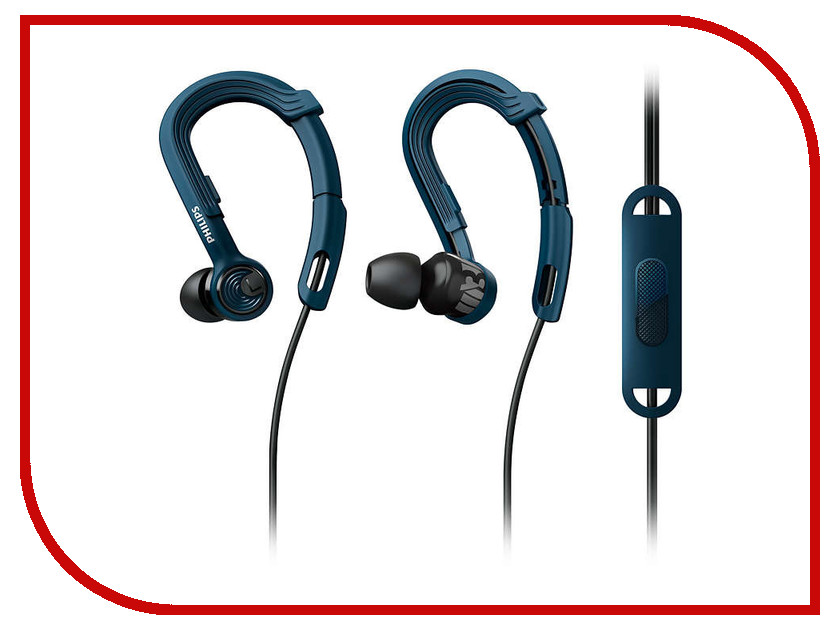 Philips SHQ3405BL/00 Blue гарнитура philips shq3405bl 00 blue